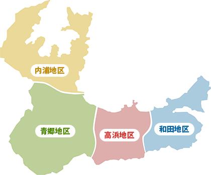 PC用高浜4地区エリアマップ