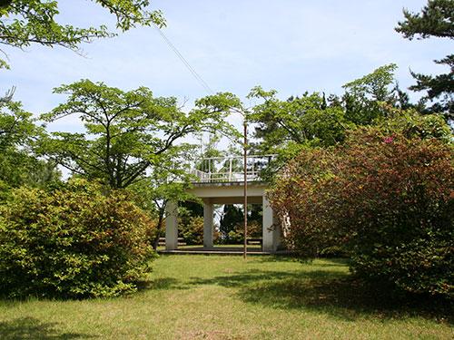 安土山公園の展望台