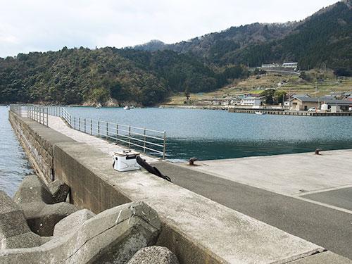 日引漁港桟橋