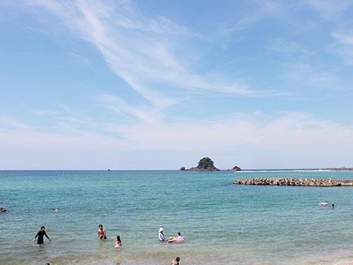 鳥居浜海水浴場01