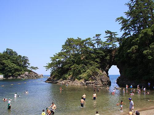 城山海水浴場01