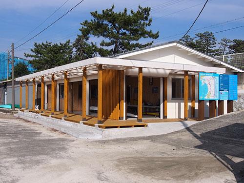 若狭和田ビーチ救護所